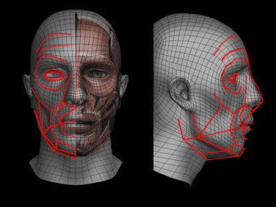 Rukout CG - Tutorial: 3d Facial Rigging for Positioning